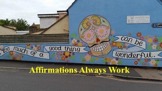 happy street art