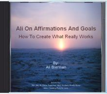 affirmations and goals CD