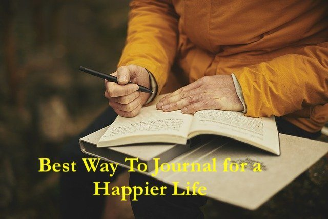 monk writing ins journal