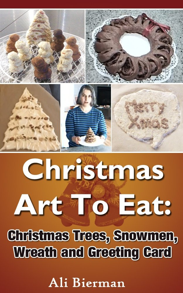 edible Xmas sculptures