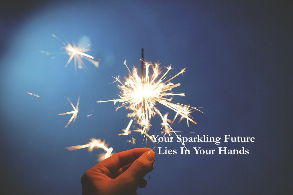 sparklers to thrive in life
