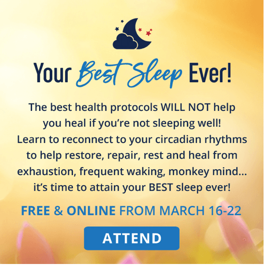 best sleep Ever summit registration ad