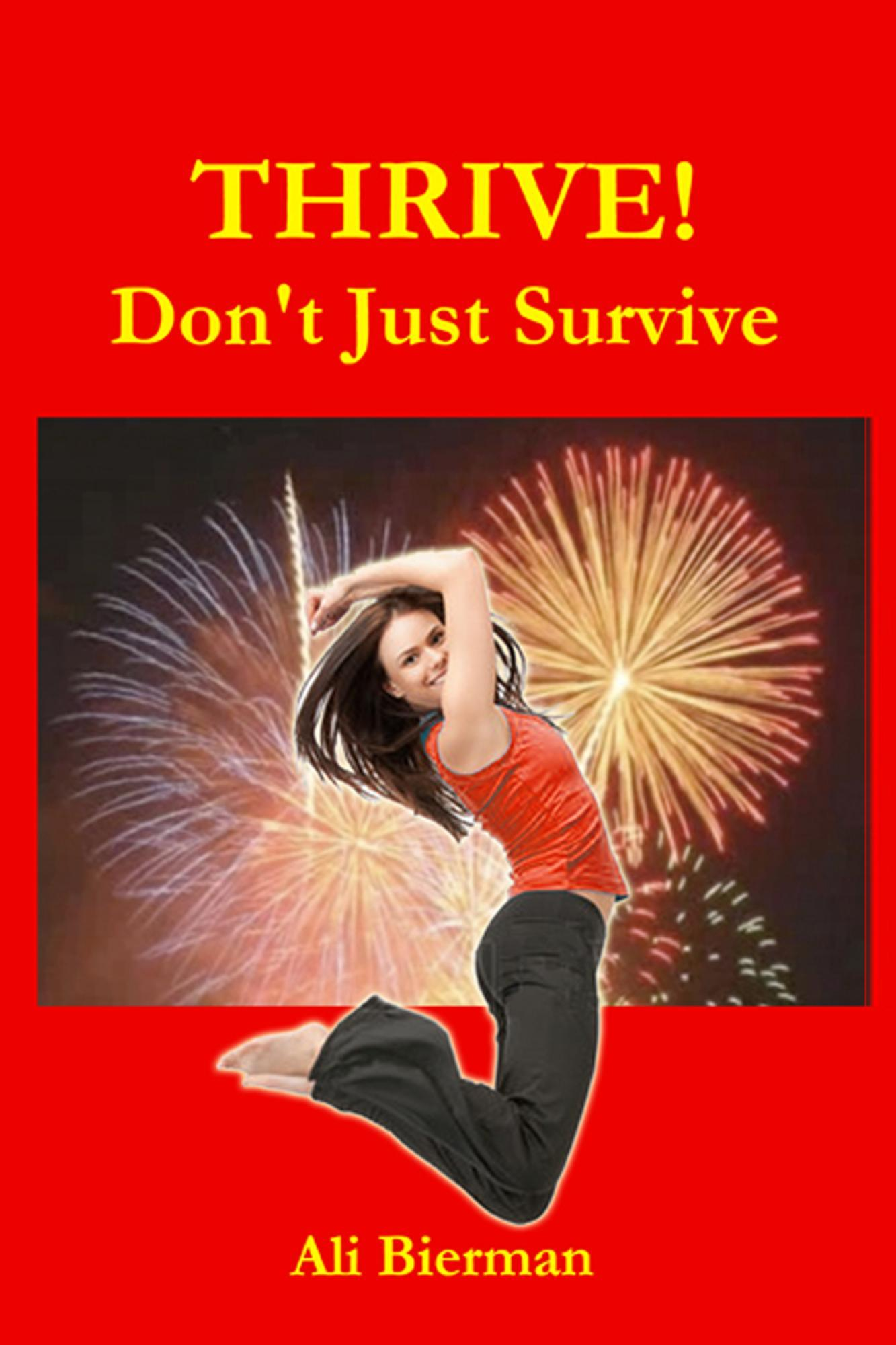 thrive don't just survive book cover