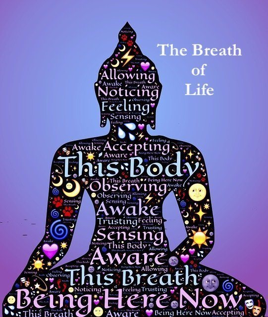 meditator breath awareness