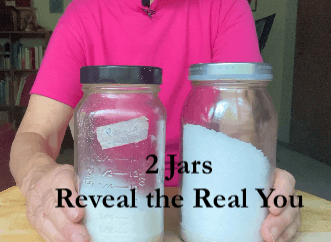 2 jars reveal the Real You